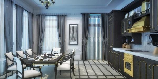 Moscow city residence ana resim