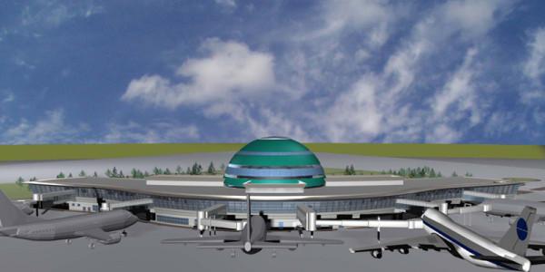 Astana Havaalanı Terminal Binası (Kazakistan)
