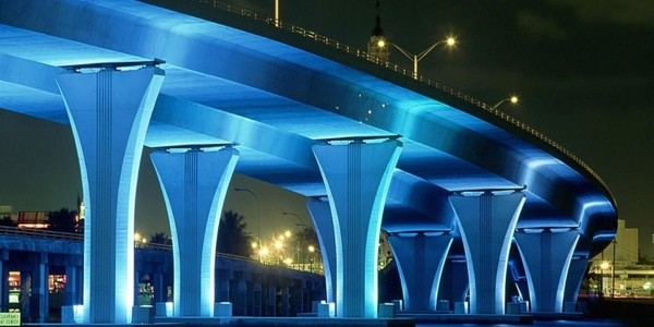 highway-bridge,-blue-lighting-126010