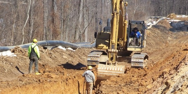 Excavating-York-County-Pipeline